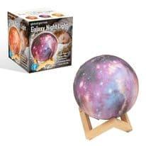 Global Gizmos Galaxy LED Night Light - 15cm